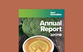 Hort Inovation's Annual Report 2017/18