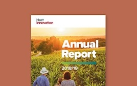 Hort Innovation's Annual Report 2018/19